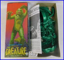 1963 Aurora Creature from the black Lagoon Monster Model Kit Vintage unbuilt 426
