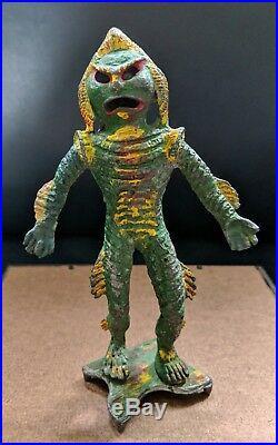 1967 Large RARE Creature From Black Lagoon Lead Aquarium Figure Monster Toy