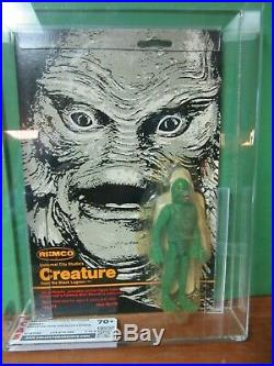 1980 Remco CREATURE FROM BLACK LAGOON 3 3/4 GRADED 70+ CAS Universal Monsters