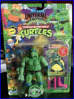 1994 Playmates TMNT As Universal Monsters. Leo As Creature From The Black Lagoon