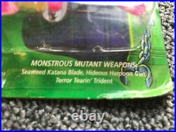 1994 TMNT Creature From The Black Lagoon Leonardo NMOC Mutant Turtles