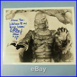 Ben Chapman Signed 8x10 Photo + Extras, Creature from the Black Lagoon