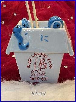 Black Lagoon Room Creature From The Crab Rangoon Blue Leftovers Monster Tiki Mug