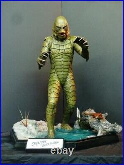 CINEMAQUETTE Creature From The Black Lagoon Statue RARE