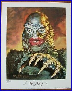 CREATURE FROM THE BLACK LAGOON, BASIL GOGOS Limited Edition S & #'d Lithograph