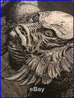 CREATURE FROM THE BLACK LAGOON MONDO poster print (286/300) Brandon Holt