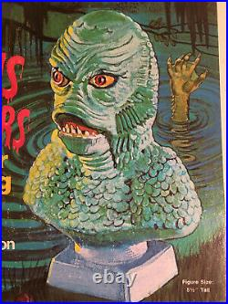 CREATURE FROM THE BLACK LAGOON Plaster Casting Set Rapco UNUSED Complete 1974