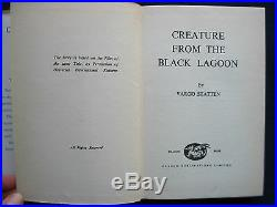 CREATURE FROM THE BLACK LAGOON by VARGO STATTEN 1st Edition Movie Tie-In Edition