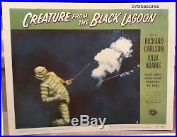 CREATURE FROM THE BLACK Original Horror Lobby Card Movie Poster