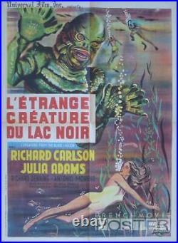 Creature From The Black Lagoon Carlson / Adams Original French Movie Poster