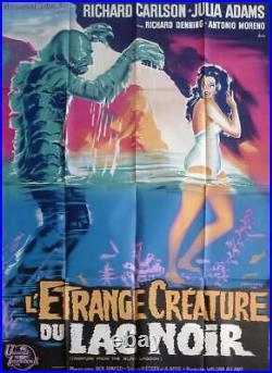 Creature From The Black Lagoon Carlson / Adams Original Large Movie Poster