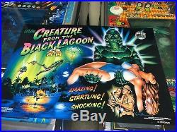 Creature From The Black Lagoon Original Translite