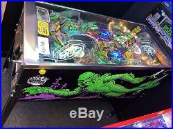 Creature From The Black Lagoon Pinball Machine Bally ColorDMD LEDs Free Shipping