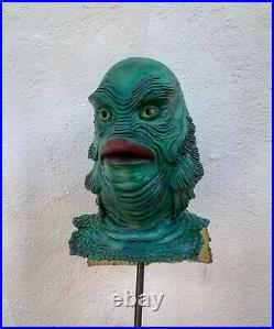 Creature From The Black Lagoon Repainted TOTS Mask (Not don post)