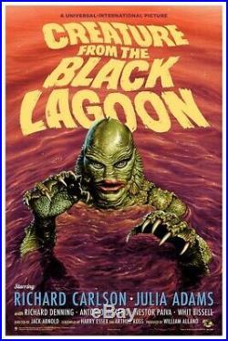 Creature From The Black Lagoon Variant Jason Edmiston MONDO Monster Movie Poster