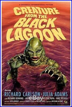 Creature From The Black Lagoon Variant Poster Print Jason Edmiston Mondo OOP