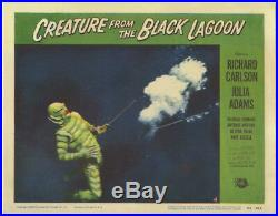 Creature From The Black Lagoon Vintage Horror Lobby Card 1954