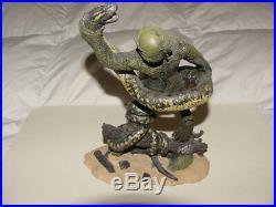 Creature From The Black Lagoon Vs The Anaconda Resin Model Build Up