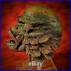 Creature From the Black Lagoon Gillman Skull Real Kuebler Oddity Human Tattoo