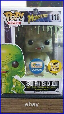 Creature From the Black Lagoon Glow In The Dark Funko Pop Gemini Exclusive