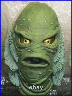 Creature From the Black Lagoon Latex Mask Display Bust Famous Universal Monsters