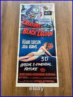 Creature From the Black Lagoon original daybill (USED)