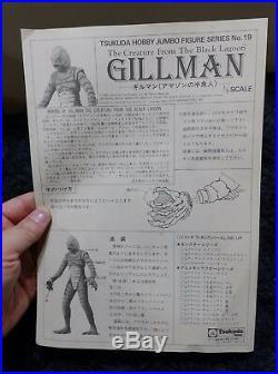 Creature from the Black Lagoon GILLMAN 1/5 TSUKUDA VINYL MODEL KIT