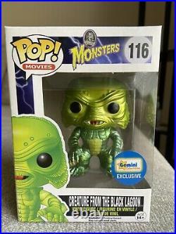Creature from the Black Lagoon (Metallic) Universal Monsters #116 Funko Pop