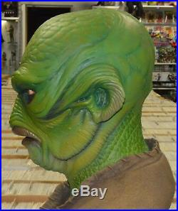 Creature from the Black Lagoon Walks Lifesize Bust Blackheart Models Steve Wang