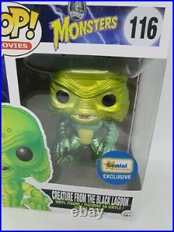 Creature from the black lagoon Metallic Universal Monsters Funko Pop Gemini exc