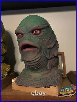 Don Post Creature From The Black Lagoon Devils Workshop Famous Monsters One Off