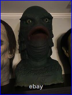 Don Post Creature From The Black Lagoon Malone Sculpt B