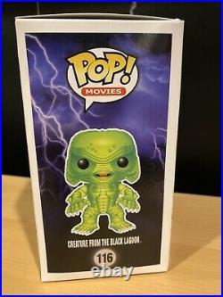 Funko POP! Creature from the Black Lagoon #116 Metallic Gemini with Hard Protector