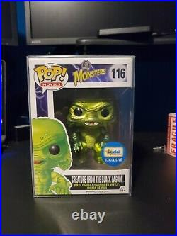 Funko POP! Monsters Creature From The Black Lagoon (Metallic) Gemini Exc #116