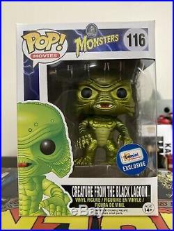 Funko Pop Creature from the Black Lagoon 116 Metallic Gemini + Chalice Protector
