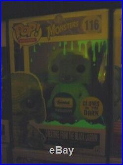 Funko Pop! Creature from the Black Lagoon, Metallic & GITD 3pc Gemini Exclusive