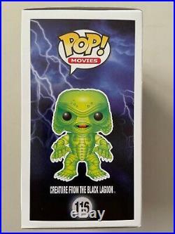 Funko Pop Gemini Collectibles Exclusive CREATURE FROM BLACK LAGOON GITD