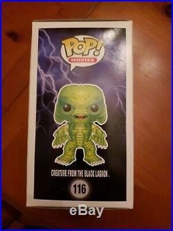 Funko Pop! Gemini Exclusive Glow In The Dark Creature From The Black Lagoon #116
