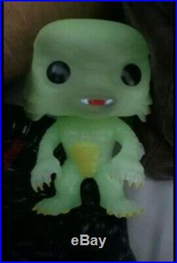 Funko Pop Horror Creature From The Black Lagoon Glow In Dark Gemini Exclusive