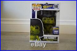 Funko Pop Kirk Hammett Monster Creature from the Black Lagoon #16 1008 LE MINT