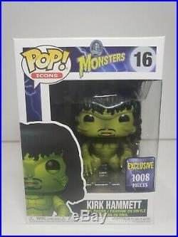 Funko Pop! Kirk Hammett Monsters #16 Creature from the Black Lagoon LE1008 pcs