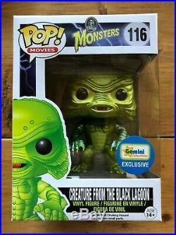 Funko Pop Monster Creature from the Black Lagoon #116 Metallic