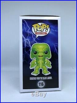 Funko Pop Monsters #116 Creature from the Black Lagoon Glow in the Dark GITD