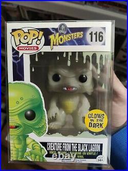 Funko Pop Monsters 116 Creature from the Black Lagoon Glow in the dark (GITD)