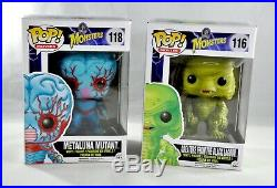 Funko Pop Monsters Lot of Two Creature from the Black Lagoon Metaluna
