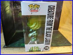 Funko Pop Monsters Metallic Creature From The Black Lagoon #116 Vault Gemini