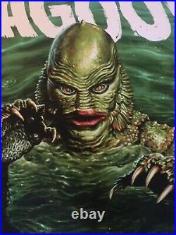 Jason Edmiston Creature From The Black Lagoon Mondo Screen Print Poster