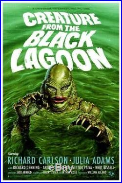 Jason Edmiston Creature From The Black Lagoon Mondo Sold Out