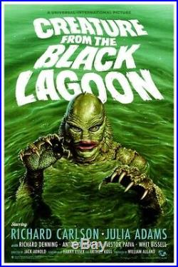 Jason Edmiston Creature From The Black Lagoon Rare Mondo Poster Regular #XX/275