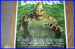 Jason Edmiston Creature from The Black Lagoon Regular Edition Print Mondo